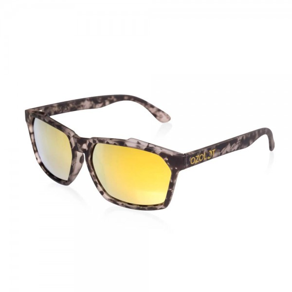 Ozolot LYNX Polarisationsbrille / Outdoorbrille   Black Ink - Gold Revo