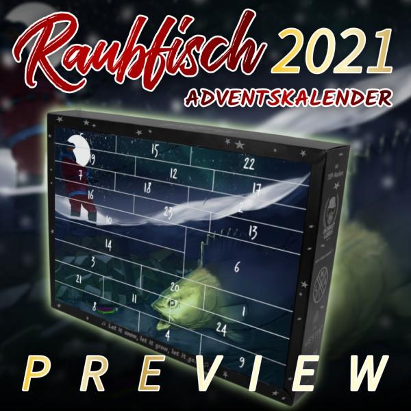 Hecht & Barsch Raubfisch Adventskalender 2021