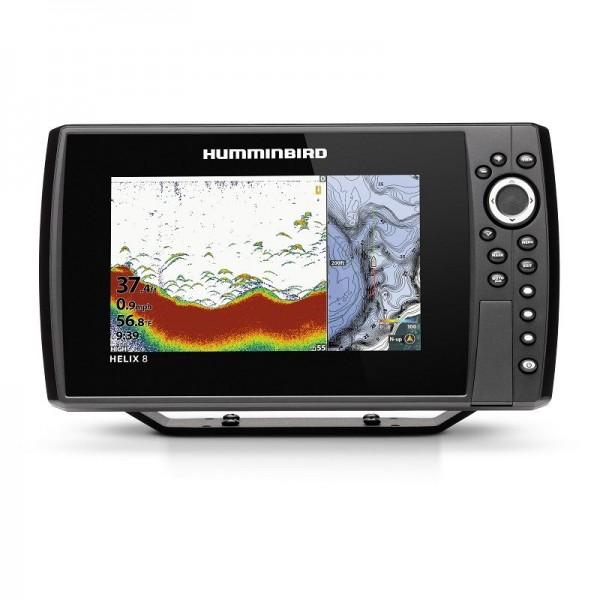Helix 8 CHIRP GPS G3N Bildschirm