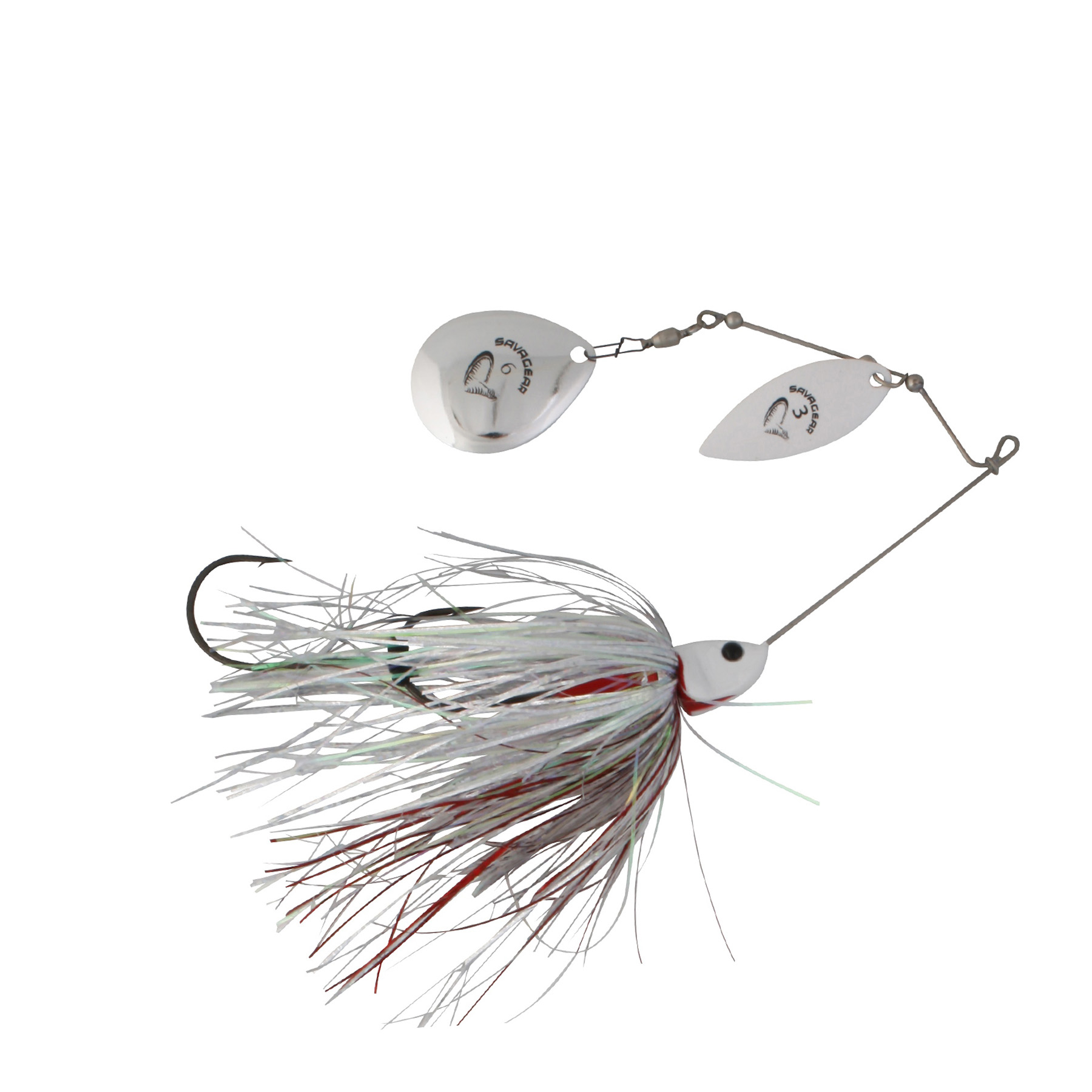 Savage-Gear-Da-Bush-Spinnerbait-White-Silver-Holo-Flame