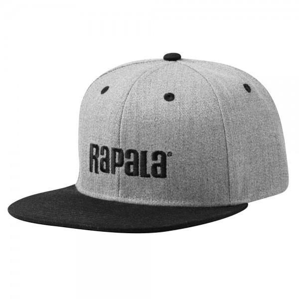 Rapala Flat Brim Cap | Grey / Black
