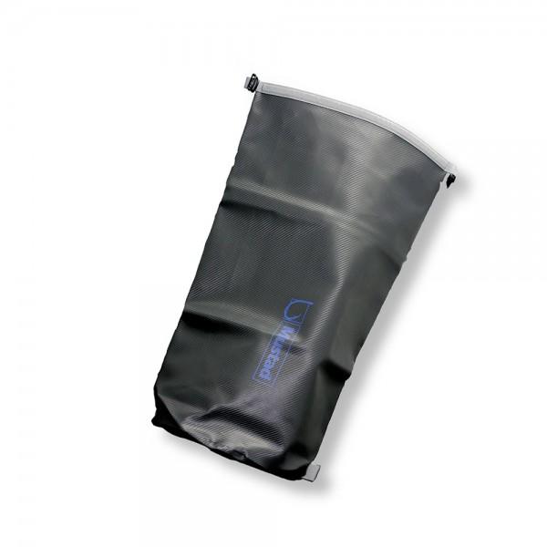 Mustad Dry Bag 40 L Tarpaulin PVC Grey-Blue wasserdichte Angeltasche