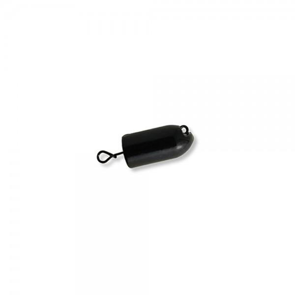 Mustad Fastach Worm Weight Black Powder 21g | Bleikopf-System für Softbaits zum Vorschalten vor schlanke Gummiköder, Gummiwürmer , Twister, Eals oder Worm