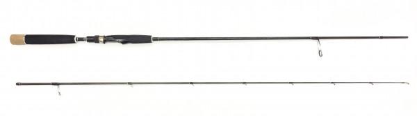 Quantum Vapor Finesse Lure&Jig 210 Finesse-Rute Jig Spinning Barsch Forelle Döbel 2-teilig Spinrute