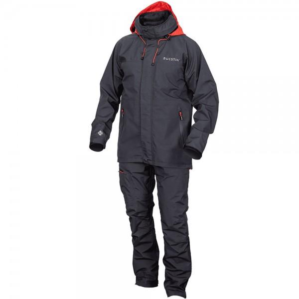 Westin W6 Rain Suit M Steel Black