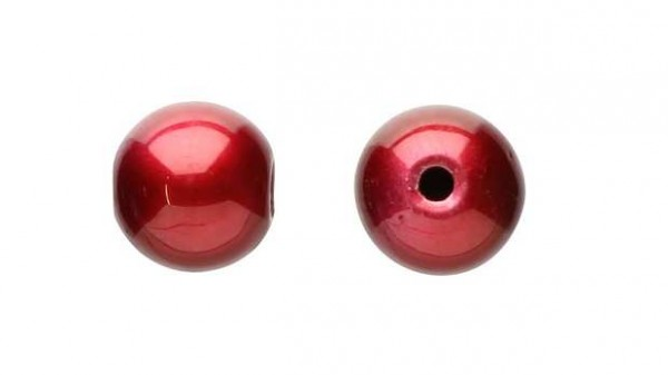 DEKA Sound Beads Red rote Drop-Shot Perlen in 6 8 mm Akustik Reiz