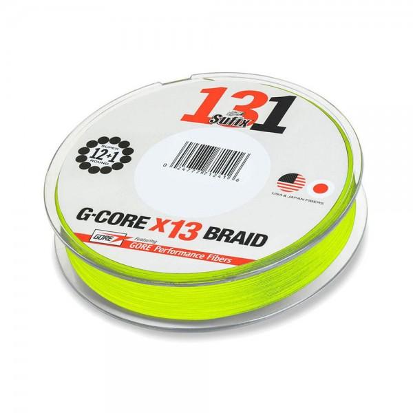 Sufix 131 G-Core x13 | Neon Chartreuse