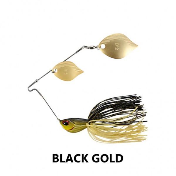 DUO Realis Cambiospin Double Blade 3/8 oz Black Gold