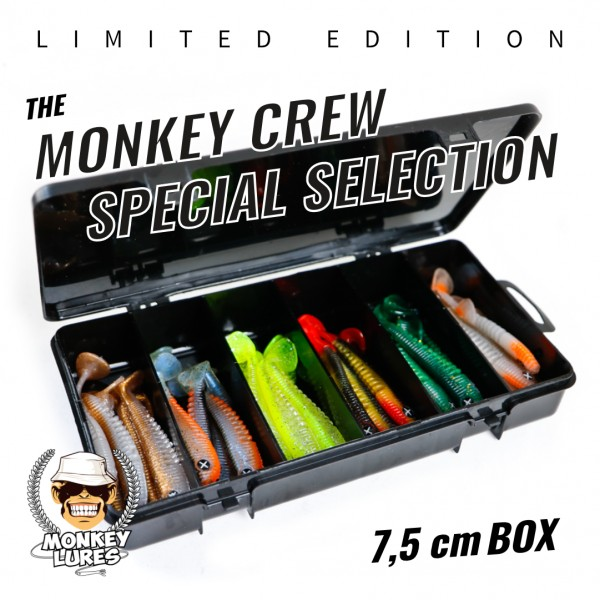 Monkey Crew Special Selection 7,5cm *LIMITED EDITION* bottom rückseite barschköder zanderköder geflavourt