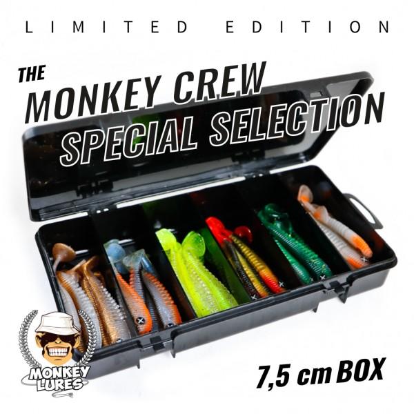 Monkey Crew Special Selection 7,5cm *LIMITED EDITION* bottom rückseite barschköder zanderköder geflavourt