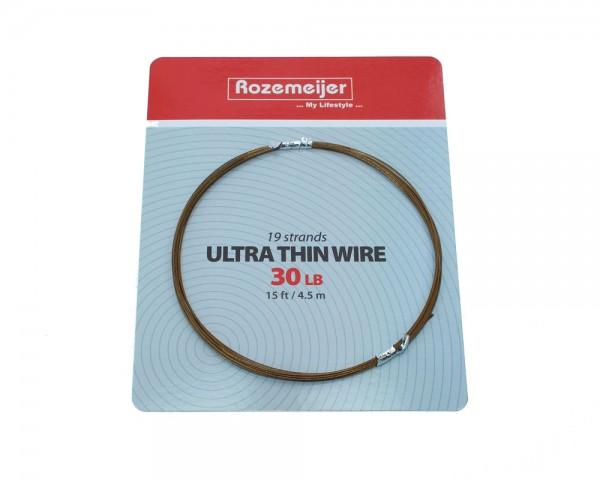 Rozemeijer Ultra Thin Wire 1×19 30 lb | 30 cm