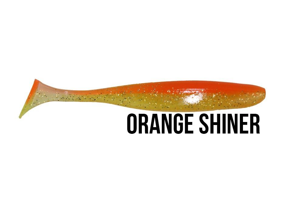 """Shad Zander KEITECH 4/"""" Barsch ca. 10cm Gummifisch Easy Shiner Hecht"""