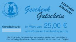 25 € H&B-Geschenkgutschein