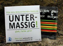"""Kondom für Angler: """"Untermaßig!"""" – Für den realistischen Angler"""