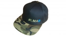 #LMAB-Basecap Black/ Jungle Camo – OneSize – Snapback