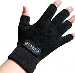 #LMAB Handschuhe, schwarz
