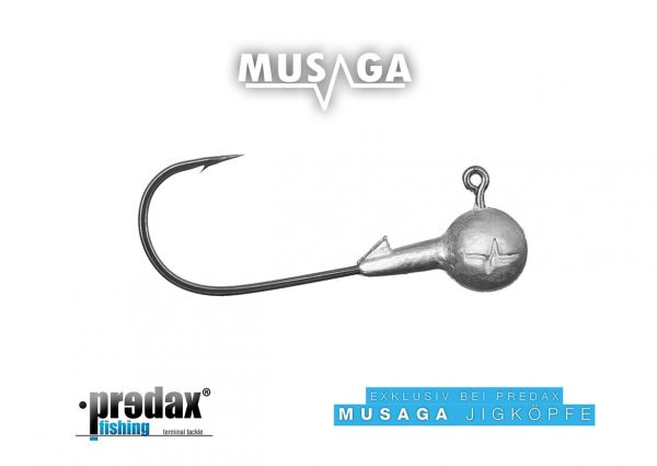 Musaga Jighaken Classic 3/0, 3er Pack