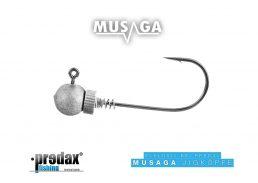 Musaga Jighaken Hanibal 4/0, 3er Pack