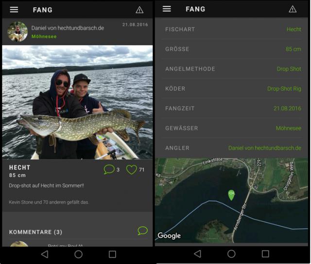 Informationen zum Hecht angeln am Möhnesee