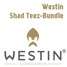 Westin Shad Teez – 9cm Bundle (8 Dekore – 24 Köder)