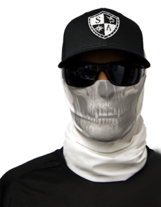 faceshield-white-skull