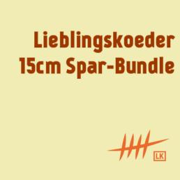 Lieblingsköder 15cm – Spar-Bundle (14 Farben, 42 Köder)