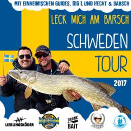 Angelurlaub mit Hecht&Barsch in Südschweden (inkl. Anreise aus Berlin/Dortmund)