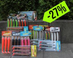 Lieblingsköder 15cm – Spar-Bundle (16 Farben, 48 Köder)