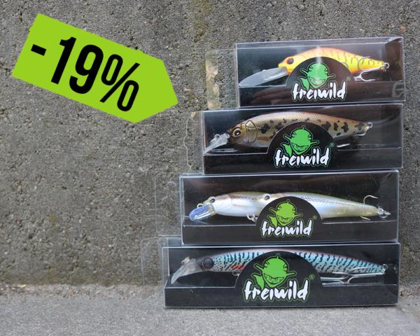 Freiwild Wobbler Sparbundle (4 unterschiedliche Größen)