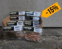 Keitech – Easy Shiner 3″ Sparbundle – Farbvariante 2 (10 Packungen – 100 Köder)