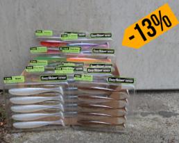 Keitech – Easy Shiner 5″ Sparbundle – Farbvariante 2 (10 Packungen – 50 Köder)