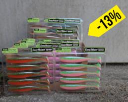 Keitech – Easy Shiner 5″ Sparbundle – Farbvariante 1 (10 Packungen – 50 Köder)
