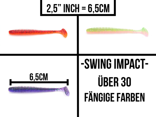 Keitech Swing Impact 2,5″