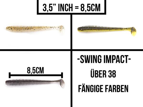 Keitech Swing Impact 3,5″
