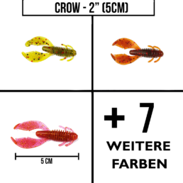 "Favorite-Select ""Crow"" – 2″ (5cm)"