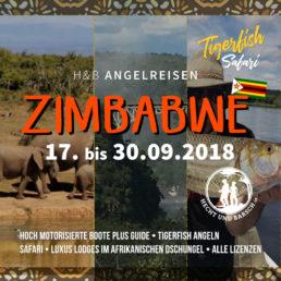 Angelreise nach Afrika (Simbabwe)