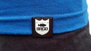 BRGD Shield schwarz/weiß unten