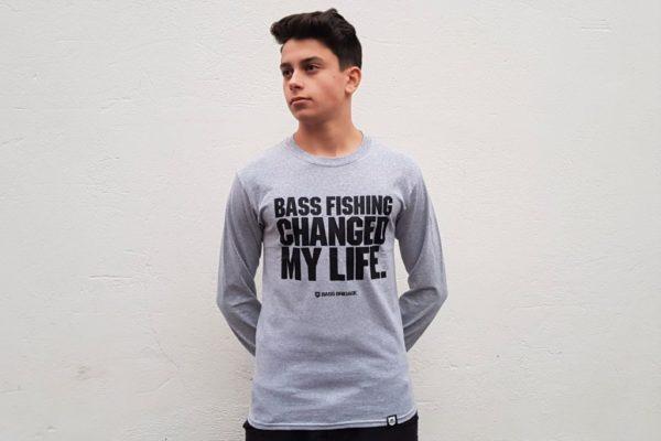 "Bass Brigade Shirt ""Bass Fishing Changed My Life"" (Longsleeve)"