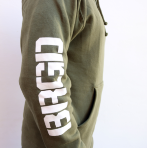 bass-brigade-hoodie-olive-green-font