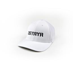 Bass Brigade DSTRYR Flexfit Cap weiß/schwarz