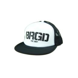 Bass Brigade BRGD Trucker Cap schwarz/weiss