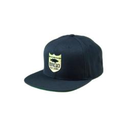 Bass Brigade Shield Logo Snapback schwarz/gold