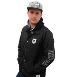 Bass Brigade BRGD Riders Coaches Jacket black/white